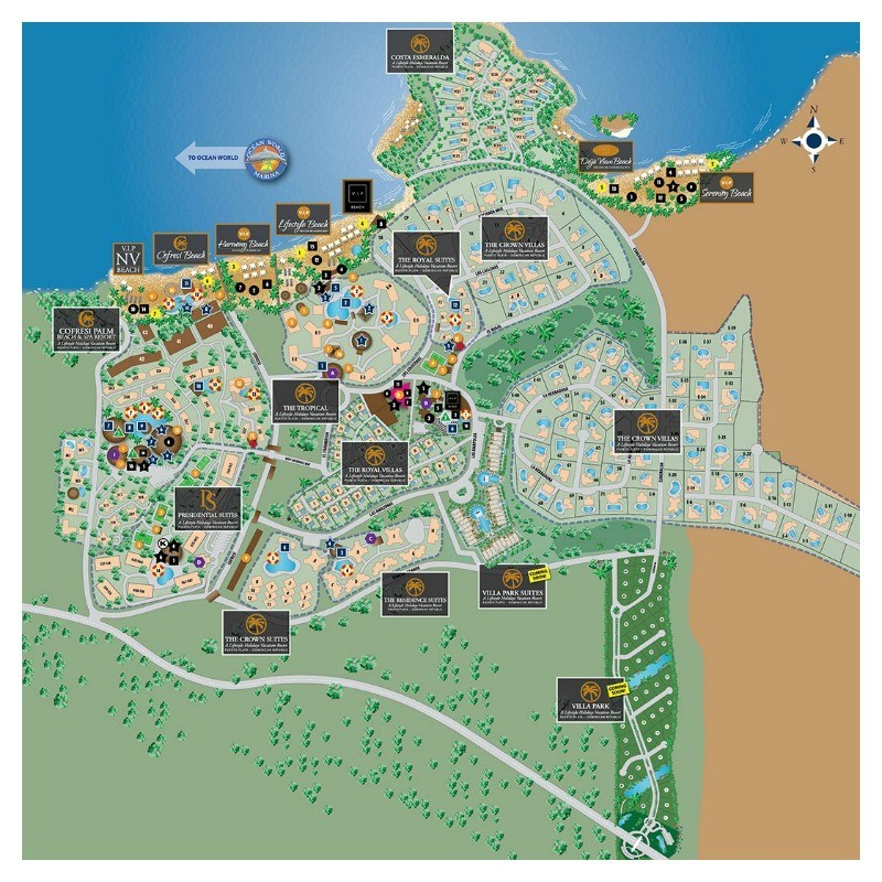 Resort Map Exclusive